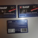 Компакт-кассеты BASF Chrome Extra II 90, Екатеринбург