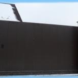 Готовый комплект откатных ворот ширина 3500 мм высота 2100 мм, Екатеринбург