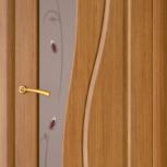 Межкомнатная шпонированная дверь со стеклом. Лора шт., Екатеринбург