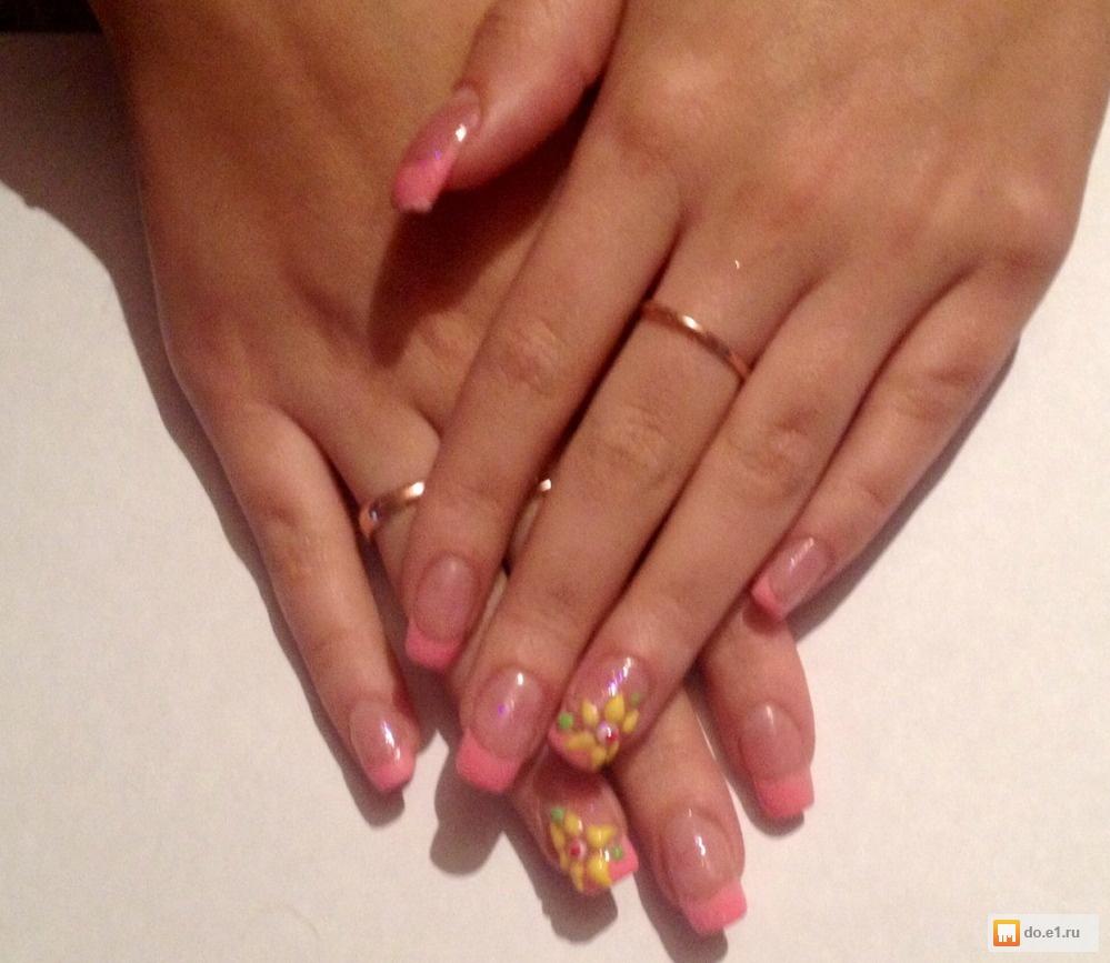 работа девушка модель ногтей