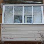 Остекление балкона, лоджии, установка, монтаж, изготовление, Екатеринбург