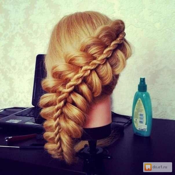 Плетение кос картинки красивые косы 137