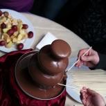 Аренда шоколадного фонтана, Екатеринбург