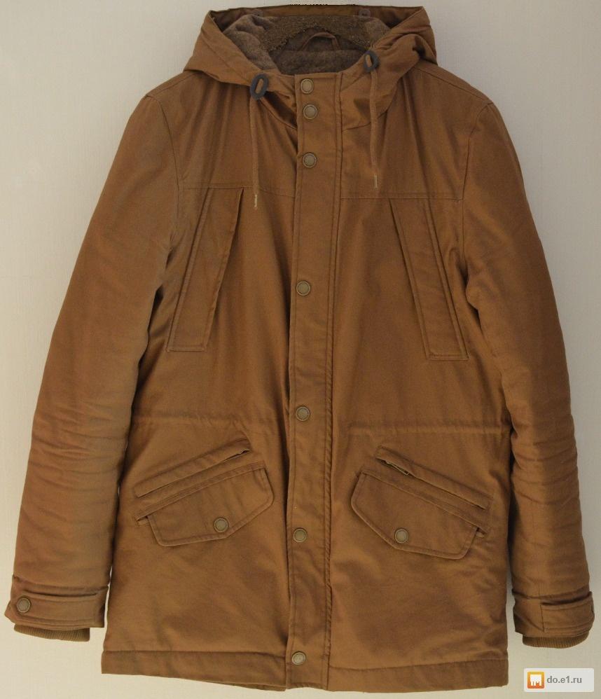 26a0bb3d3fd Куртка-парка мужская фирма zolla фото