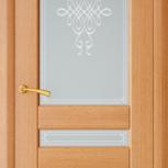 Межкомнатная шпонированная дверь со стеклом. Берлин шт, Екатеринбург