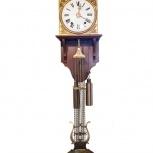 Старинные Французские настенные часы середина 19 века, Екатеринбург