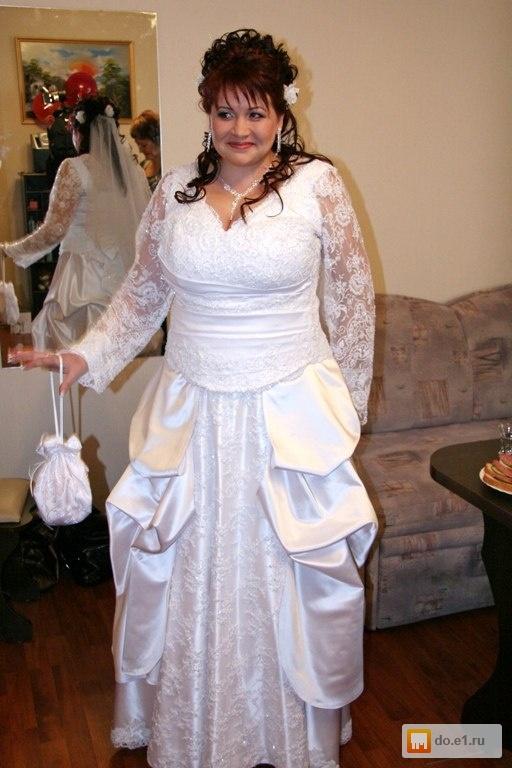 Свадебные платье 52-54
