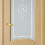 Межкомнатная шпонированная дверь со стеклом. София шт, Екатеринбург