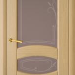 Межкомнатная шпонированная дверь со стеклом. Верона шт, Екатеринбург