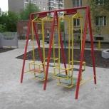 Качели металлические детские уличные, изготовление, Екатеринбург