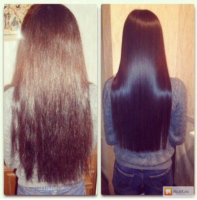 Кератиновое выпрямление волос спб цены