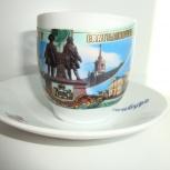 Сувенирные тарелки и  чайная пара с изображением Екатеринбурга, Екатеринбург