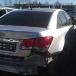 Шевроле Круз в разборе запчасти с аварийного авто, Екатеринбург